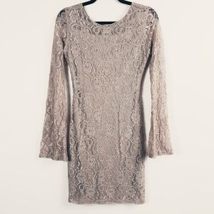 Venus Lace, Open Back Dress Size Medium